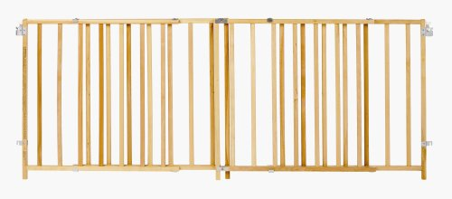 "X Wide Swing Wood Gate, Fits Spaces between 60"" and 103"" Wide"