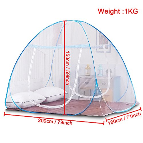 Yoosion Anti Mosquito Nets Pop Up Net Bed Tent With Bottom 200L
