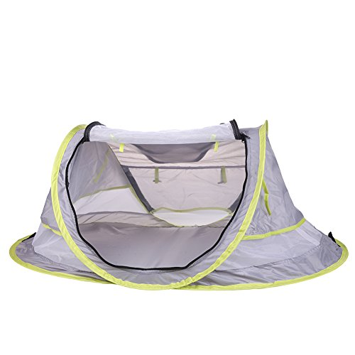 baby travel bed Portable baby beach tent ...  sc 1 st  Baby Cribbed & baby travel bed Portable baby beach tent UPF 50+ sun shelter pop ...