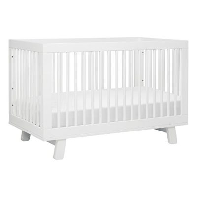 babyletto-Hudson-3-in-1-Convertible-Crib-with-Toddler-Rail-White-0