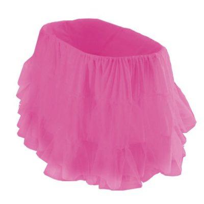 bkb-Bassinet-Petticoat-Hot-Pink-16-x-32-0