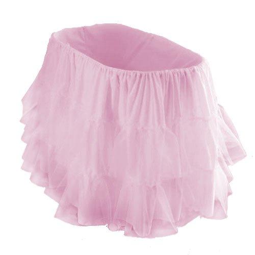 "bkb Bassinet Petticoat, Pink, 16"" x 32"""