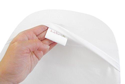 Iluvbamboo Waterproof Bamboo Bassinet Mattress Pad Cover